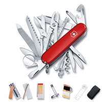 New 35765 Victorinox SWISS CHAMP SURVIVAL SOS SET Knife Multi Tool