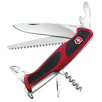 SWISS ARMY Victorinox RANGERGRIP 55 Pocket Knife 10 Functions Multi Tool 38002