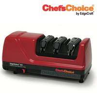 New Chef's Choice Pro Electric Diamond Hone Knife Sharpener RED 120 Hone EdgeSelect