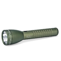 NEW MAGLITE 2C Cell ML50LX FOLIAGE GREEN LED Flashlight Made in USA