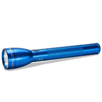 NEW MAGLITE 3C Cell ML50L BLUE LED Flashlight Made in USA