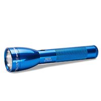 NEW MAGLITE 2C Cell ML50L BLUE LED Flashlight Made in USA