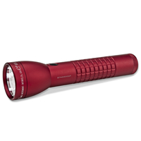 NEW MAGLITE 2D Cell ML300LX CRIMSON RED LED Flashlight Made in USA