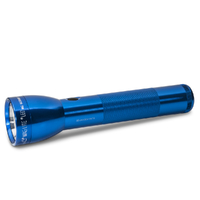 NEW MAGLITE 2D Cell ML300L BLUE LED Flashlight Made in USA