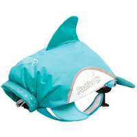 New TRUNKI PaddlePak Waterproof Medium Swim Backpack - DOLPHIN