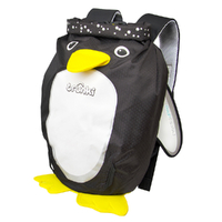 New TRUNKI PaddlePak Waterproof Medium Swim Backpack - PENGUIN