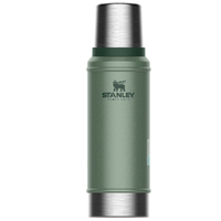 STANLEY CLASSIC Vacuum Insulated 25oz 750ml GREEN Flask Thermos Bottle