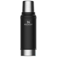 STANLEY CLASSIC Vacuum Insulated 25oz 750ml BLACK Flask Thermos Bottle