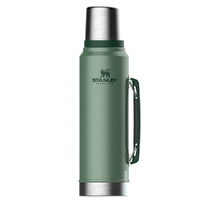 STANLEY CLASSIC Vacuum Insulated 1L GREEN Flask Thermos Bottle
