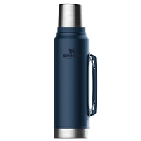 STANLEY CLASSIC Vacuum Insulated 1L NIGHTFALL BLUE Flask Thermos Bottle