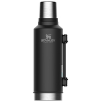 STANLEY CLASSIC Vacuum Insulated 1.9L BLACK Flask Thermos Bottle