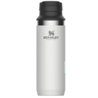 STANLEY ADVENTURE Insulated Vacuum 473ml 16oz WHITE Switchback Travel Mug