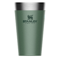 STANLEY ADVENTURE Vacuum Insulated 470ml 16oz GREEN Stacking Beer Pint