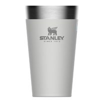 STANLEY ADVENTURE Vacuum Insulated 470ml 16oz WHITE Stacking Beer Pint