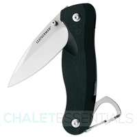 NEW Leatherman CRATER C33 Plain Blade Pocket Folding Knife *AUTHAUSDEALER*