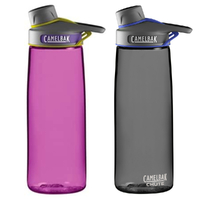 CAMELBAK CHUTE .75L 750ML BPA FREE SPILL PROOF WATER BOTTLE -6 COLOURS TO SELECT