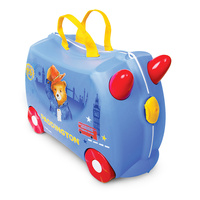 TRUNKI Ride on Kids Suitcase Luggage Toy Box PADDINGTON BEAR