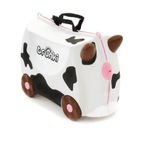 TRUNKI Ride on Kids Suitcase Luggage Toy Box FRIEDA COW
