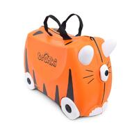 TRUNKI Ride on Kids Suitcase Luggage Toy Box TIPU TIGER