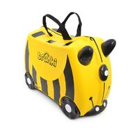 TRUNKI Ride on Kids Suitcase Luggage Toy Box BERNARD BEE