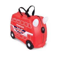 TRUNKI Ride on Kids Suitcase Luggage Toy Box BORIS BUS