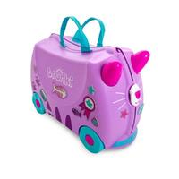 TRUNKI Ride on Kids Suitcase Luggage Toy Box CASSIE CAT