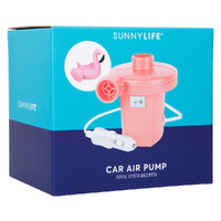 NEW SUNNYLIFE Portable Electric Air Pump for Inflatable Pool Garden Toys Flamingo Pineapple