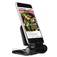 NEW PREPARA IPREP MINI IPHONE PHONE PHONE CELL ANDROID STAND  - BLACK FREE POSTAGE