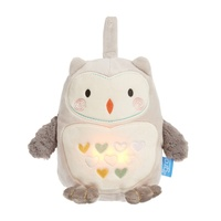 New GROFRIEND Soother Sound and Light OLLIE THE OWL Sleeping Aid White Noise