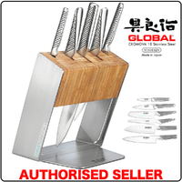 Global Knives KATANA Global Katana 6 Pc Knife Block Set