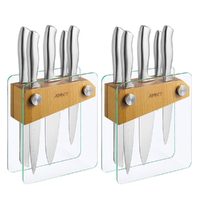 New AVANTI TEMPO 12 Piece Knife Block Set 12pc German Stainless Steel Knives Kitchen 78879