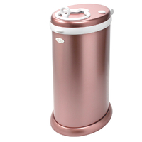 New Nappy Diaper Bin UBBI Pail METALLIC ROSE GOLD Eco Friendly