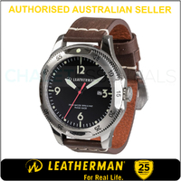 New Leatherman Limited Edition Watch Timepiece Stainless Silver *AUTH AUS DEALER*
