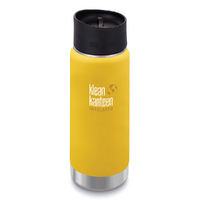 NEW KLEAN KANTEEN INSULATED WIDE 16oz 473ml LEMON CURRY Tea Coffee Water Soup