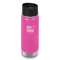 NEW KLEAN KANTEEN INSULATED WIDE 16oz 473ml WILD ORCHID Tea Coffee Water Soup