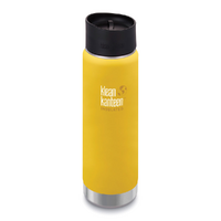 NEW KLEAN KANTEEN INSULATED WIDE 20oz 591ml LEMON CURRY BPA FREE Water Tea Coffee Soup