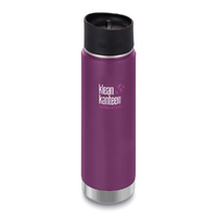 NEW KLEAN KANTEEN INSULATED WIDE 20oz 591ml WINTER PLUM BPA FREE Water Tea Coffee Soup