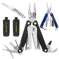 2018 Leatherman CHARGE PLUS + Multi Tool & Bit Kit & C33 Crater & Squirt BLU