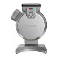 NEW CUISINART VERTICAL ELECTRIC WAFFLE MAKER NON STICK 46944 FREE POSTAGE