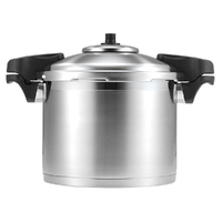 SCANPAN Stainless Steel PRESSURE COOKER 8L 24cm 18302 W/ Side Handles