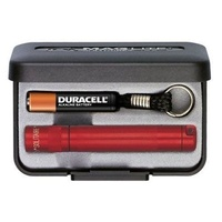 MAGLITE SOLITAIRE 1AAA FLASHLIGHT RED MADE IN USA