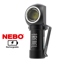 NEBO 89515 REBEL 600 Lumen Rechargeable LED Head Lamp Task Light 4 Mode