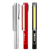 NEBO LIL LARRY Pocket LED Work Light Flashlight 250 Lumen Pocket Clip 89531