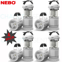 NEBO Z-BUG 4 PACK LED Mosquito Zapper Lantern & Spotlight Indoor Outdoor 89524