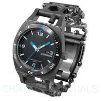 New Leatherman Tread TEMPO BLACK Watch Timepiece *AUTH AUS DEALER*
