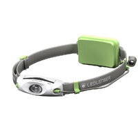New LED LENSER NEO4 Head Torch Lightweight Headlamp  - GREEN 240 Lumens