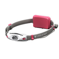 New LED LENSER NEO4 Head Torch Lightweight Headlamp  - PINK 240 Lumens