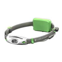 LED LENSER NEO6R Head Torch RECHARGEABLE Headlamp  - GREEN 240 Lumens