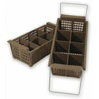 "DISHWASHER CUTLERY RACK BASKET WITH HANDLES ""FREE POSTAGE"" 69872"