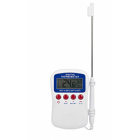 "DIGITAL THERMOMETER HAND HELD WITH ALARM ""FREE POSTAGE"" 30793"
